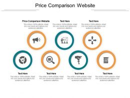 Price Comparison Website Ppt Powerpoint Presentation Summary Portfolio Cpb