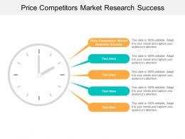 Price Competitors Market Research Success Ppt Powerpoint Presentation Portfolio Demonstration Cpb