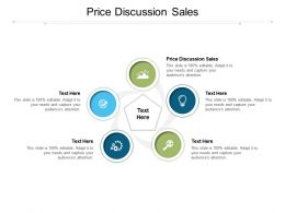 Price Discussion Sales Ppt Powerpoint Presentation Example 2015 Cpb