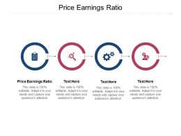 Price Earnings Ratio Ppt Powerpoint Presentation Ideas Inspiration Cpb