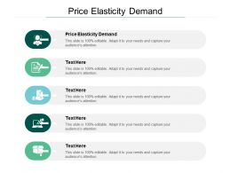 Price Elasticity Demand Ppt Powerpoint Presentation Pictures Objects Cpb