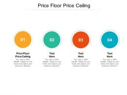 Price Floor Price Ceiling Ppt Powerpoint Presentation Gallery Background Designs Cpb