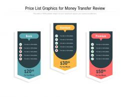 Price List Graphics For Money Transfer Review Infographic Template