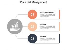 Price List Management Ppt Powerpoint Presentation Portfolio Samples Cpb