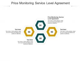 Price Monitoring Service Level Agreement Ppt Powerpoint Presentation Layouts Cpb