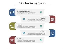 Price Monitoring System Ppt Powerpoint Presentation Portfolio Examples Cpb