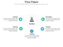 Price Patent Ppt Powerpoint Presentation Pictures Outline Cpb