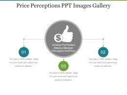 Price Perceptions Ppt Images Gallery