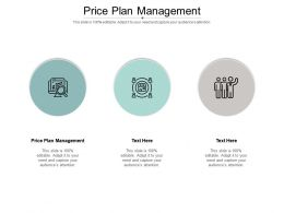 Price Plan Management Ppt Powerpoint Presentation File Display Cpb