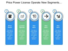 Price Power Price Power License Operate New Segments