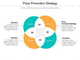 Price Promotion Strategy Ppt Powerpoint Presentation Styles Skills Cpb