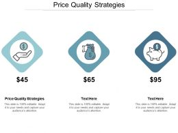 Price Quality Strategies Ppt Powerpoint Presentation Ideas Picture Cpb