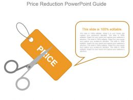 Price Reduction Powerpoint Guide