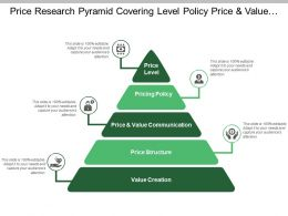 Price Research Pyramid Covering Level Policy Price And Value Communication