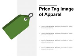 Price Tag Image Of Apparel