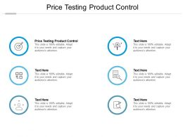 Price Testing Product Control Ppt Powerpoint Presentation Model Influencers Cpb
