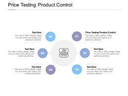 Price Testing Product Control Ppt Powerpoint Presentation Styles Model Cpb
