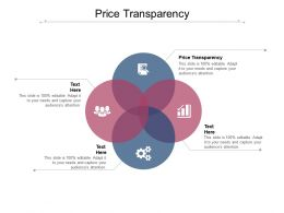 Price Transparency Ppt Powerpoint Presentation Pictures Icon Cpb