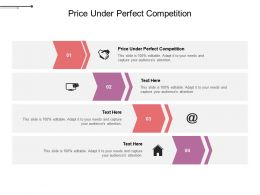 Price Under Perfect Competition Ppt Powerpoint Presentation Model Cpb