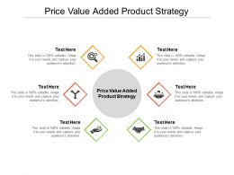 Price Value Added Product Strategy Ppt Powerpoint Presentation Summary Cpb