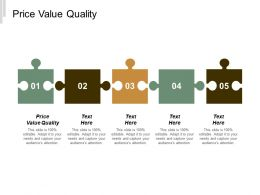 Price Value Quality Ppt Powerpoint Presentation Icon Rules Cpb