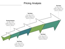 Pricing Analysis Ppt Powerpoint Presentation Icon Graphics Pictures Cpb