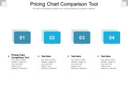 Pricing Chart Comparison Tool Ppt Powerpoint Presentation Gallery Good Cpb