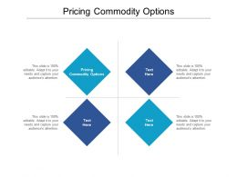 Pricing Commodity Options Ppt Powerpoint Presentation Inspiration Show Cpb