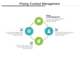 Pricing Contract Management Ppt Powerpoint Presentation Layouts Example File Cpb