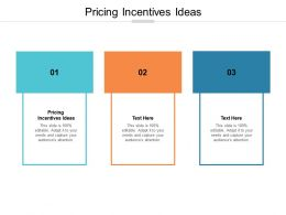 Pricing Incentives Ideas Ppt Powerpoint Presentation File Background Images Cpb