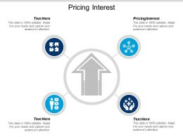 Pricing Interest Ppt Powerpoint Presentation Icon Background Images Cpb
