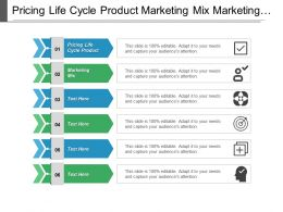 Pricing Life Cycle Product Marketing Mix Marketing Market Segmentation Cpb