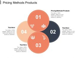 Pricing Methods Products Ppt Powerpoint Presentation Professional Background Image Cpb