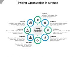 Pricing Optimization Insurance Ppt Powerpoint Presentation Styles Themes Cpb