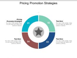 Pricing Promotion Strategies Ppt Powerpoint Presentation Gallery Shapes Cpb