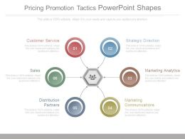 Pricing Promotion Tactics Powerpoint Shapes