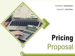 Pricing Proposal Powerpoint Presentation Slides