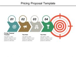 Pricing Proposal Template Ppt Powerpoint Presentation Model Templates Cpb