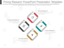 Pricing Research Powerpoint Presentation Templates