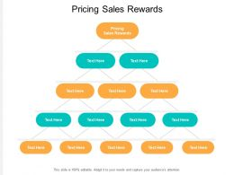 Pricing Sales Rewards Ppt Powerpoint Presentation Gallery Elements Cpb
