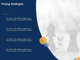 Pricing Strategies Capture Ppt Powerpoint Presentation Example