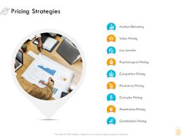 Pricing Strategies Market Skimming Ppt Graphics Example