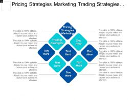 Pricing Strategies Marketing Trading Strategies Porter Competitive Strategy Cpb