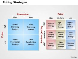 PRICING STRATEGIES Powerpoint Presentation Slide Template