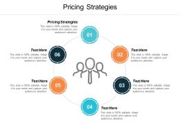 Pricing Strategies Ppt Powerpoint Presentation Slides Brochure Cpb