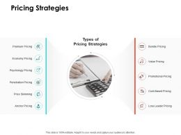 Pricing Strategies Ppt Powerpoint Presentation Styles