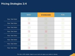 Pricing Strategies Standard Powerpoint Presentation Slide Download