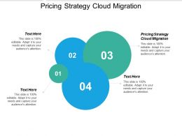 Pricing Strategy Cloud Migration Ppt Powerpoint Presentation Summary Elements Cpb