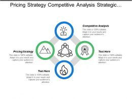 Pricing Strategy Competitive Analysis Strategic Management Models Customer Analysis Cpb
