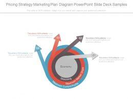 Pricing Strategy Marketing Plan Diagram Powerpoint Slide Deck Samples